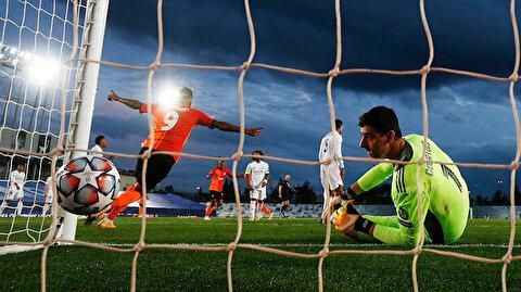 Devler Ligi'nde gecenin sürprizi: 10 oyuncudan yoksun gelip, Real Madrid'i devirdiler
