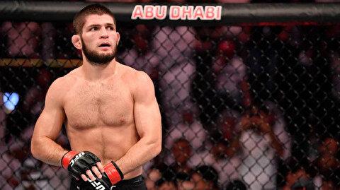 UFC Hafif Sıklet Şampiyonu Habib Nurmagomedov kariyerini noktaladı