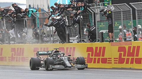 British driver Hamilton wins 7th Formula 1 title