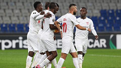 Sivasspor'dan altın değerinde '3' puan: Gruptan çıkma umudu devam ediyor