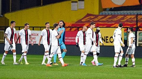 Çılgın maçta Karagümrük Galatasaray'ı 101. dakikada mağlup etti