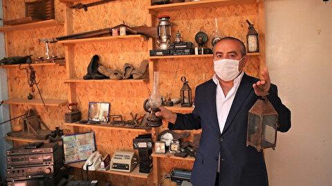 تركي يحول منزله إلى متحف لآثار عثمانية