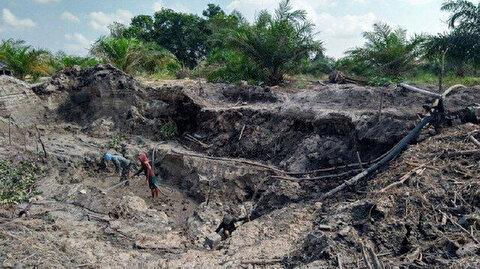 مصرع 5 أشخاص جراء انهيار أرضي في إندونيسيا