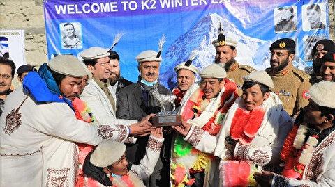 Nepali climbers get hero's welcome in Pakistan