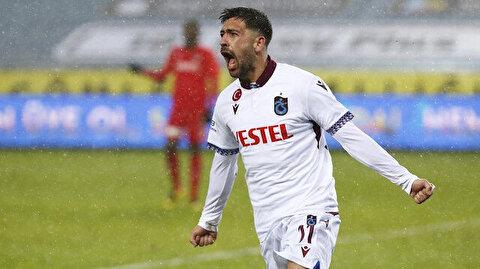 Bakasetas atıyor, Trabzonspor zirveyi sallıyor