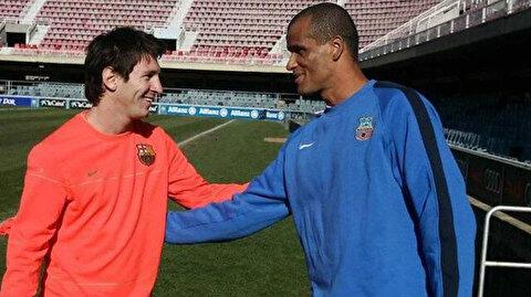 Rivaldo Messi'nin yeni takımını açıkladı