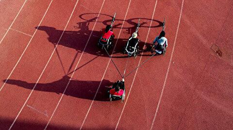 Turkish wheelchair athletic team eye Olympic quota