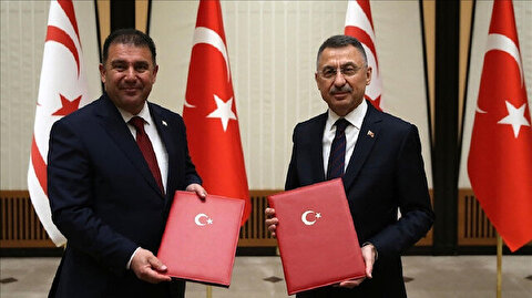 Turkey, Turkish Cyprus sign financial cooperation pact
