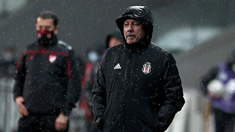 Sergen Yalçın, Başakşehir maçında cezalı duruma düştü