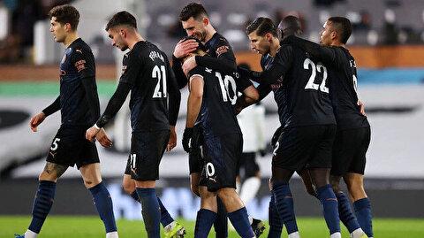 Manchester City, Fulham deplasmanında farklı kazandı (ÖZET)