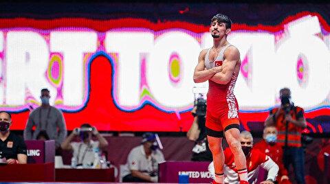 Turkish wrestler Kerem Kamal marches to Tokyo Olympics