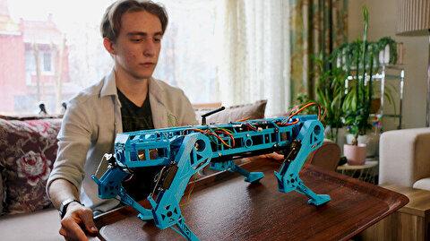 Turkish high school student develops modular robot dog