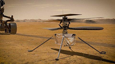 NASA: Mars earliest helicopter flight April 8