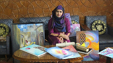 Kashmir's women artists paint in 'black and white'