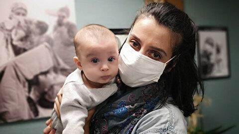 Doğuma günler kala koronavirüse yakalandı: Bebeği negatif çıktı