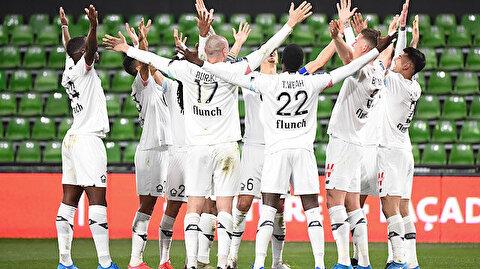 Lille'in galip geldiği Metz maçına Burak Yılmaz ve Zeki Çelik damga vurdu