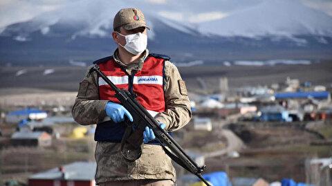 Kars'ta karantinaya alınan 2 köye giriş çıkışlar durduruldu