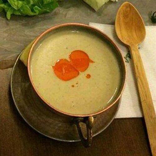 Veliler sofrasında ördek çorbası