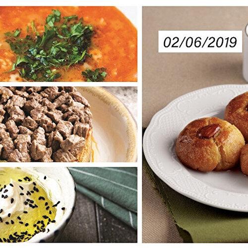 28. gün iftar menüsü