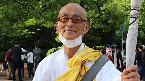 Japonya'daki Budist rahipten İsrail'in saldırdığı Filistin'e destek: Tanrı bile bunları bağışlamaz