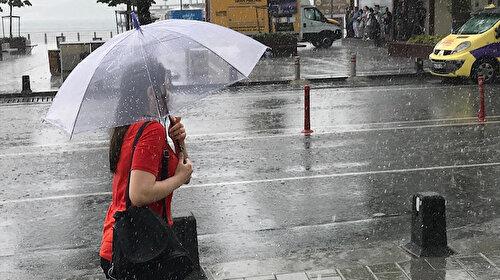 Meteoroloji uyardı: İstanbul dahil 23 ilde sağanak yağış bekleniyor