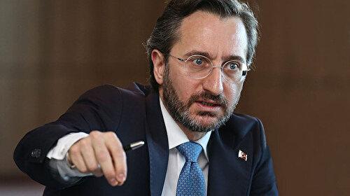 İletişim Başkanı Altun'dan ABD'ye sert tepki : Türkiye kimsenin bekleme odası değildir