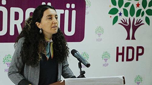 HDP'li Ebru Günay CHP'ye terörist Öcalan'ı adres gösterdi