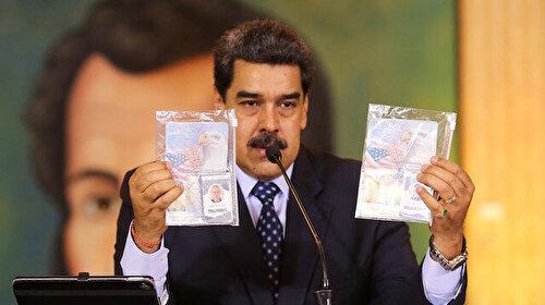 Maduro ülkesindeki krizin sorumlusunu açıkladı: ABD tarafından 'ölümcül bir bıçak' saplandı