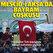 Mescid-i Aksa'daki Filistinlilerden Türk bayraklı bayram kutlaması