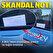 Milli Takım otobüsünün üzerinde skandal yazı