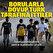 Borularla dövüp<br>Türk tarafına ittiler