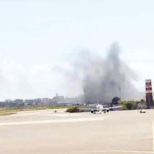 Terörist Hafter yine saldırdı