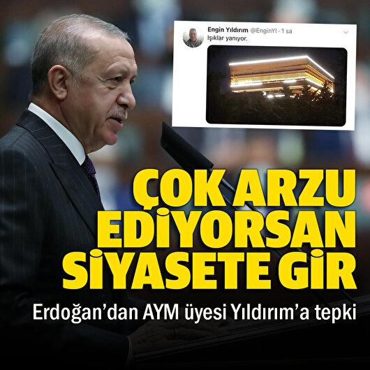 Cumhurbaşkanı Erdoğan: Talihsiz bir paylaşımdı keşke yapmasaydı ona düşmezdi