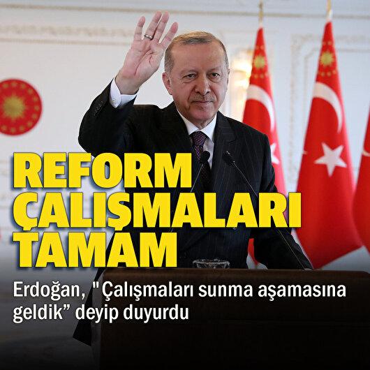 Reformları sunacağız
