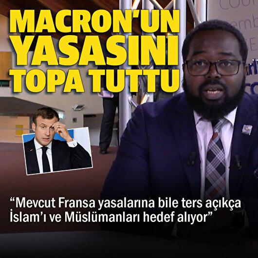 Fransa'nın İslam karşıtı yasasını Avrupa Konseyi raportörü topa tuttu: Açıkça Müslümanları hedef alıyor