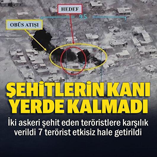MSB: 2 kahraman silah arkadaşımızı şehit eden teröristlere misliyle karşılık verildi 7 terörist etkisiz hale getirildi