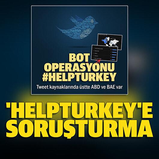 'HelpTurkey'e<br>soruşturma