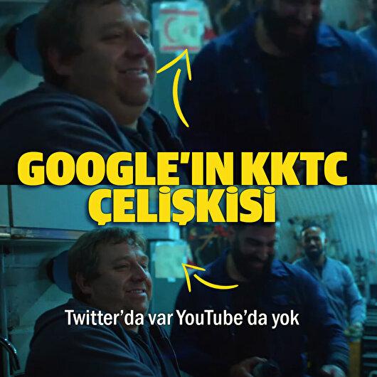 Google reklamında KKTC çelişkisi: Twitter'da var YouTube'da yok