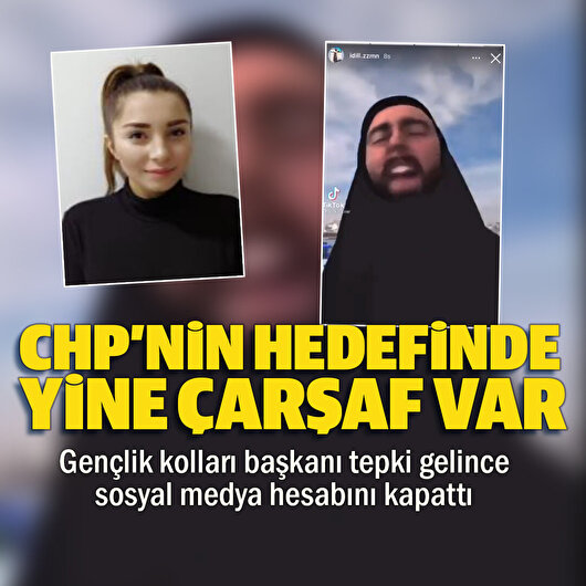 CHP'li İdil Zaman'dan çarşaflı kadınlarla dalga geçen paylaşım