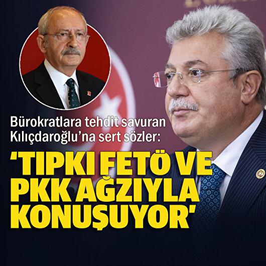 Akbaşoğlu'ndan Kılıçdaroğlu'na 'bürokratlara tehdit' tepkisi: Tıpkı PKK ve FETÖ'nün ağzıyla konuşuyor