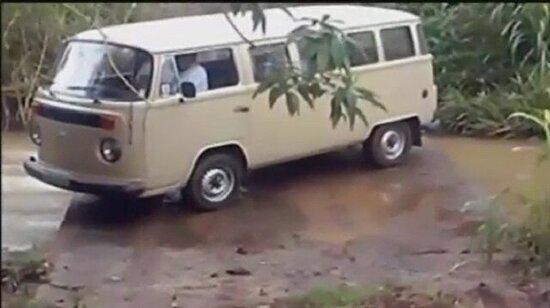 Usta şoför böyle olur