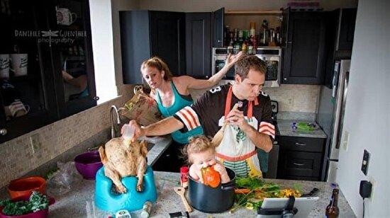 14 fotoğrafla gerçek aile olmak