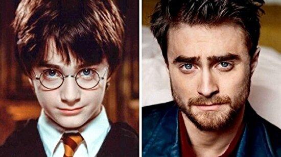 Harry Potter karakterlerinin 14 yıllık değişimi
