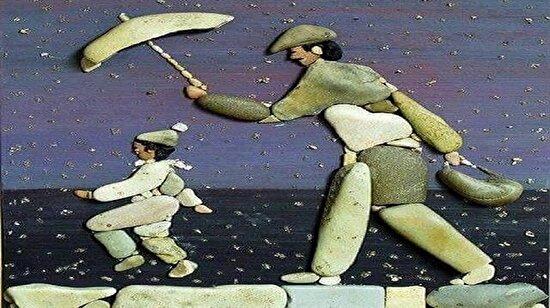 'Sıradan' taşlardan yapılmış muhteşem bir sanat