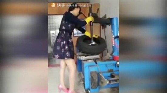 Bu lastik tamircisi araç sahiplerini şaşırtıyor