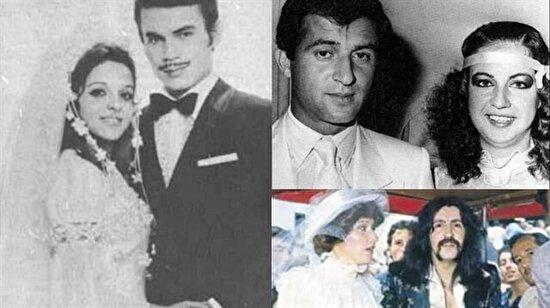 Sanat, siyaset ve spor camiasından tanınan isimlerin düğünlerinden kalan bilinmeyen kareler