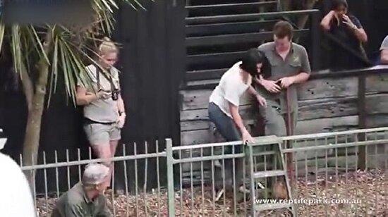Hayvanat bahçesinde sıra dışı evlilik teklifi