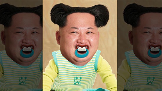 İnternet ahalisinin photoshop çılgınlığı bu kez Kim'i vurdu