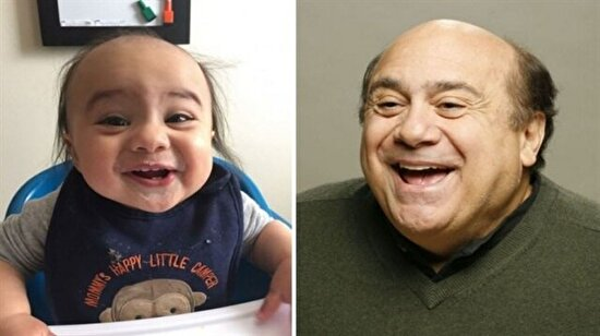 Hık demiş burnundan düşmüş: Dünyaca ünlü isimlerin ikizi olan 19 bebek