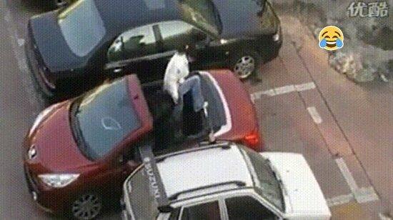 Kahkaha garantili 14 gif: Kadınların araba park etmeyle imtihanı
